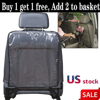 US Car Seat Back Protector Cover for Children Babies Kick Mat Protects from