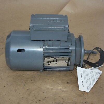SEW Eurodrive 0.25kW 3 phase electric motor DFT71D6/BMG 880rpm 6 pole