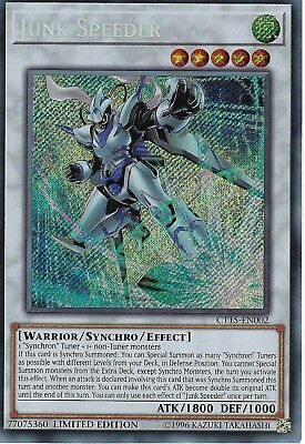 Yu-Gi-Oh: Junk Speeder - CT15-EN002 - Secret Rare Card - Limited Edition