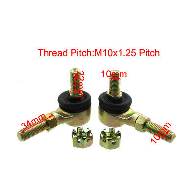 Tie Rod Ends Ball For 110cc 125cc ATV Quad Go Kart Buggy Hammerhead Trailmaster