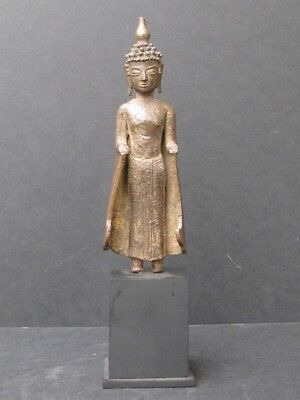 Antique Bouddha en Bronze du LAOS