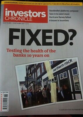 FIXED? Testing the Health of the Banks 10 years on, Investors Chronicle, 2017