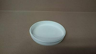 ENDS CAPS Plastic spare for Postal Tube Spare White 3'' inch 76 mm FREE DELIVERY
