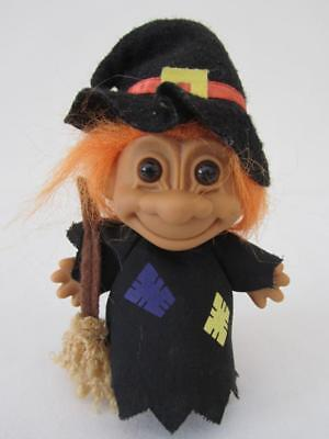 Vintage Collectable Russ WITCH TROLL DOLL 15cm Tall Toy Figure