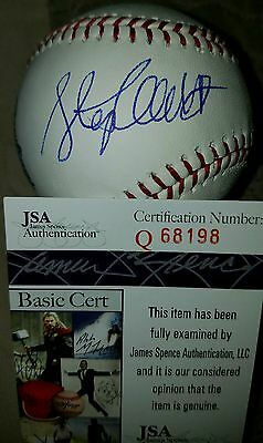 Stephen Colbert (The Late Night Show) Signed OMLB in person. JSA CERTIFIED