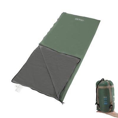 OUTAD Sleeping Bag Lightweight Portable Waterproof Durable for Camping Hiking