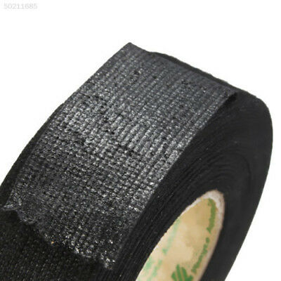 684D 15m Car Vehicle Harness Noise Sound Insulation Adhesive Felt Fleece Tape Bl