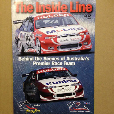 Holden Racing Team The Inside Line Brochure HRT HSV Apparel Merchandise