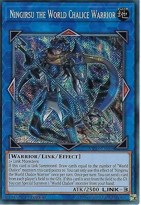 Yu-Gi-Oh: Ningirsu The World Chalice Warrior - MP18-EN068 - Secret Rare - 1ST Ed