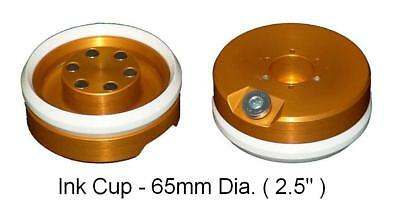"""Pad Printing 65mm (2.5"""") Ink Cup with ceramic ring For pad Printer ( Magnetic _"""