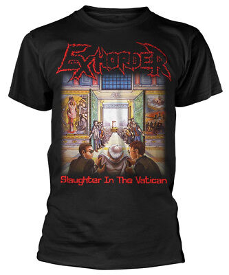 Exhorder 'Slaughter In The Vatican' T-Shirt - NEW & OFFICIAL!