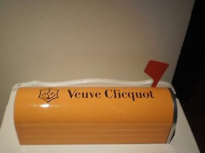 Veuve Clicquot French Champagne Mail Box Empty Collectors Carrier  Tin