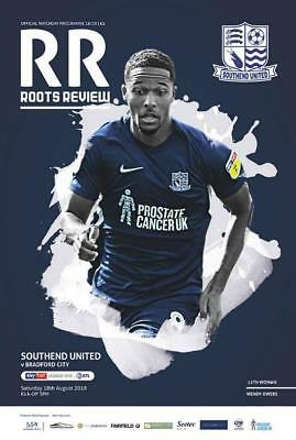* 2018/19 - SOUTHEND UNITED v BRADFORD CITY (18th August 2018) *
