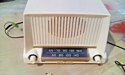 low priced 15cee 014d8 VINTAGE 1951 GENERAL ELECTRIC MODEL 405 AM TUBE RADIO GREAT SHAPE  phono-switch