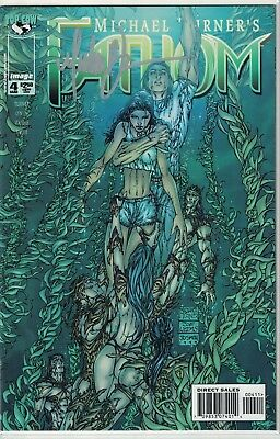Top Cow Michael Turner's Fathom #4a Autograph Signed Free Shipping