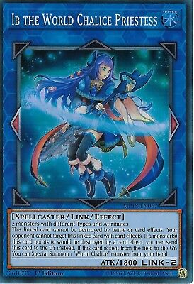 Yu-Gi-Oh: Ib The World Chalice Priestess - MP18-EN067 - Super Rare Card - 1st Ed