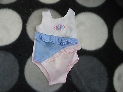 Lovely Baby Born Doll Swimming Costume Outfit Suit Clothes 099