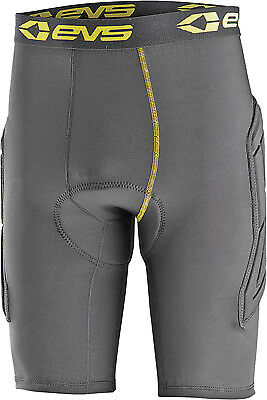 EVS Tug Padded Offroad Motorcycle Riding Protective Shorts Black