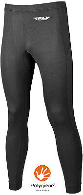Fly Racing Street Lite Weight Pants Motorcycle Riding Base Layer Black