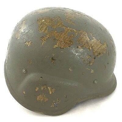 US Army Issue PASGT Ballistic Helmet, Military Combat USGI, Small