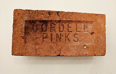 Antique Brick Stamped  *** Cordell Pinks *****