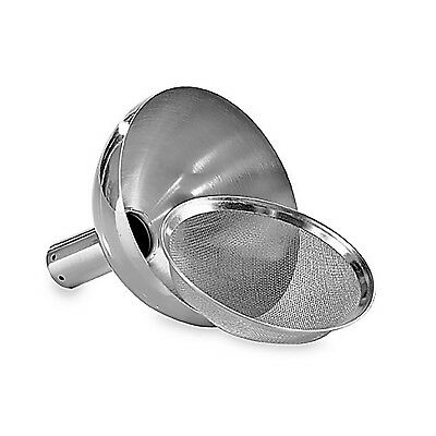 Wine Enthusiast Aerating Funnel with Removable Screen