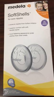 Medela SoftShells Breast Shell Soothers for Sore Nipples