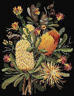 Banksias - Cross Stitch Chart by Country Threads