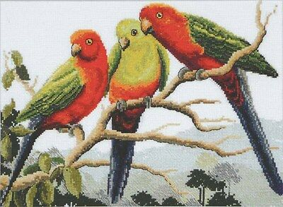 King Parrots - Counted Cross Stitch Chart from Country Threads