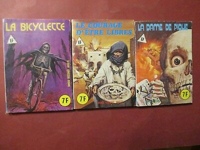 Elvifrance Lot 3 Serie Bleue   Be/tbe