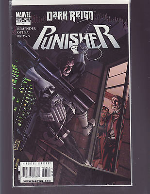 Punisher #4 Variant (Marvel 2009) Dark Reign Tie In  Unread/bagged And Boarded