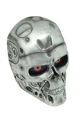 Airsoft Paintball Wire Mesh Full Face Protection T800 Terminator Prop Mask F553