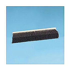 "36"" Stiff Polypropylene Floor Brush Head w/3-1/4"" Bristles, Lot of 1"