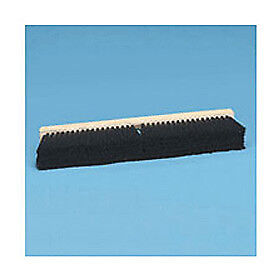 "24"" Hardwood Block 2-1/2"" Tampico Fill Floor Brush Head, Lot of 1"