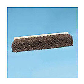 "18"" Floor Brush Head 3-1/4"" Palmyra Fiber, Lot of 1"