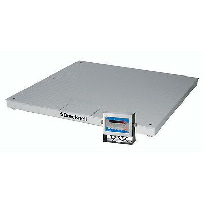 """Brecknell Pegasus DCSB6060-10 60"""" x 60"""" Low Profile Digital Pallet Scale,"""