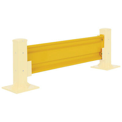Protective Rail Barrier 5 Ft. Rail, Brackets Sold Separately, Lot of 1