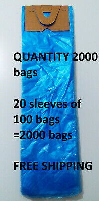poly newspaper bags 1000 ct.Clear 5 1//2/'/'x19/'/' Dog Poop diaper pet waste 5.5x19