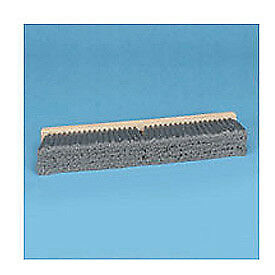 "36"" Flagged Polypropylene Floor Brush Head w/3"" Bristles, Lot of 1"