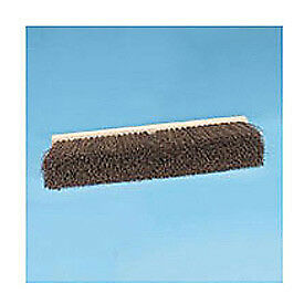 "24"" Floor Brush Head 3-1/4"" Palmyra Fibers, Lot of 1"