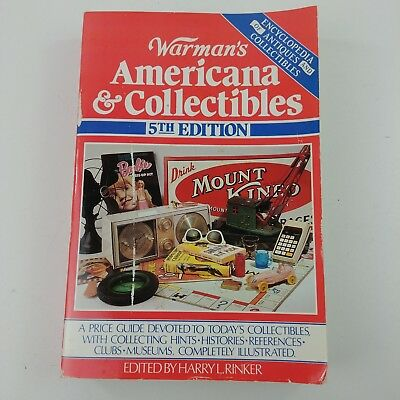 qb Warmans Americana & Collectible 5th Edition Completely Illustrated Reference