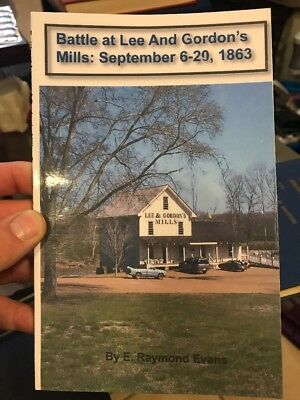 Battle at Lee and Gordon's Mill: September 6-20, 1863 (PB 2008)