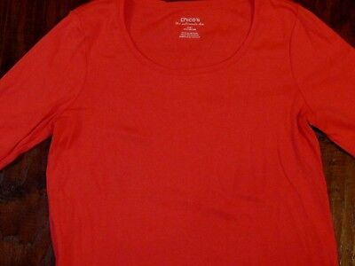 CHICO'S Ultimate Tee--size 1 (8)