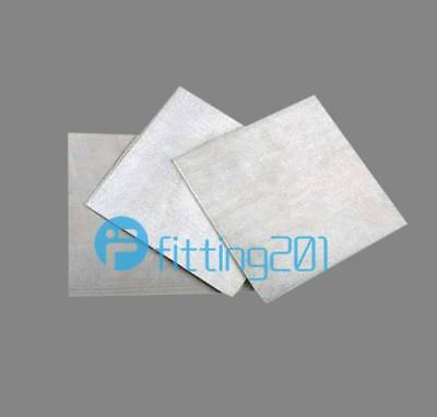 1PCS New Magnesium Foil Small Sheet  2x100x100mm (very thick) 99.8%