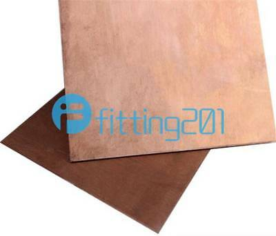 New 99.9% Pure Copper Cu Metal Sheet Plate 100x100x1mm For Handicraft Aerospace