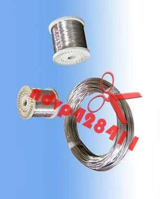 2m = 6.6 FT Titanium Ti Wire Grade 1 One GR1 Diameter 0.2mm