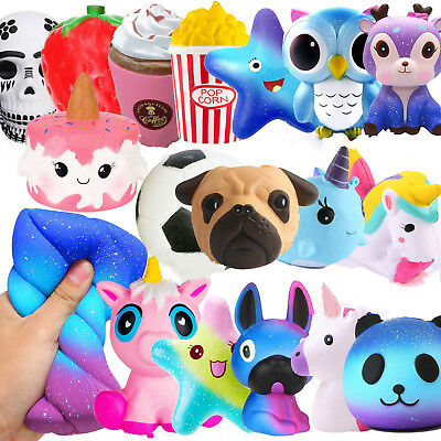 Jumbo Slow Rising Squishies Squishy Mobile Squeeze Kids Toy Stress Reliever Aid