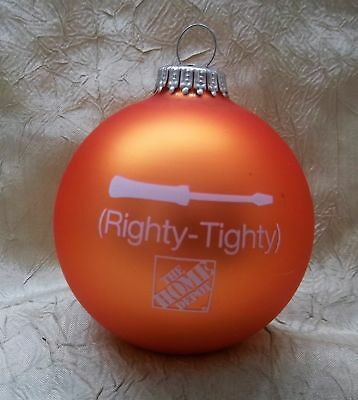 The Home Depot Righty Tighty Lefty Loosey Christmas Ornament