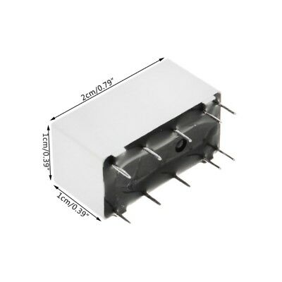 12V Coil Bistable Latching Relay DPDT 30VDC 2A 1A 125VAC HFD2/005-S-L2-D Realy