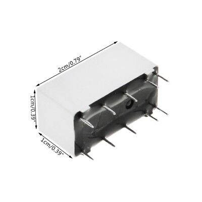 1 PC BISTABLE (latching) 2-coil relay 5V coil, 16A contact, SPDT